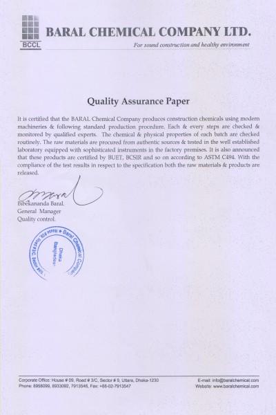 Quality Assurance paper